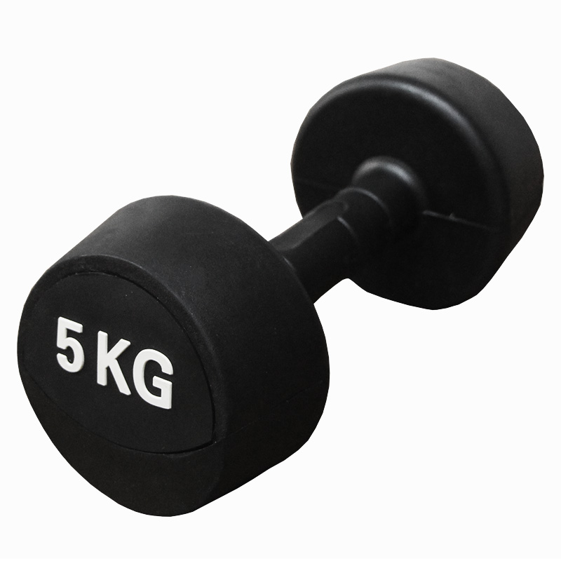 wholesale rubber dumbbell