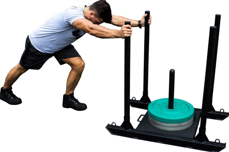 China Cf Push Pull Power Sled For Pull And Speed Training