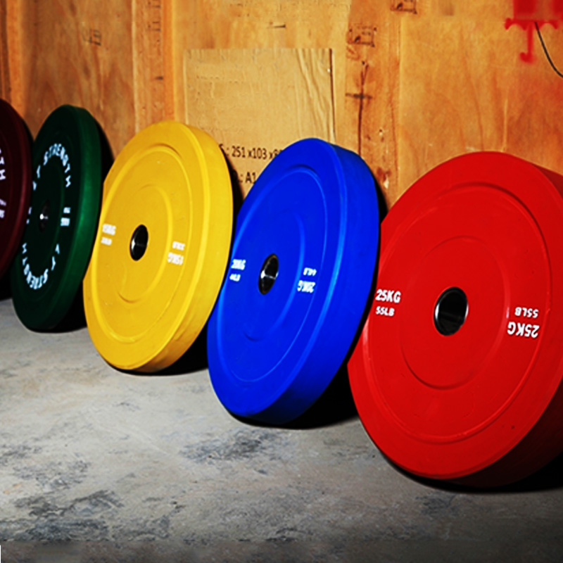 wholesale PU barbell plate