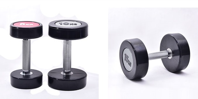 wholesale PU dumbbell