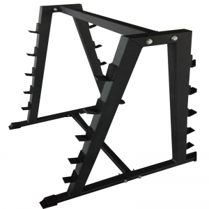 China Commercial Barbell A Frame Storage Rack Wholesale Manufacturer