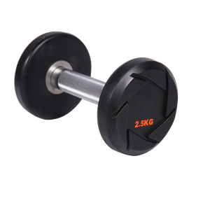 China Manufacturer Weight Lifting Fitness Round CPU Dumbbell