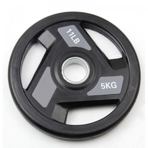 China PU Multi-grip Weight Plate Supplier
