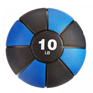 China Rubber Coated 2-20LB Medicine Ball Supplier