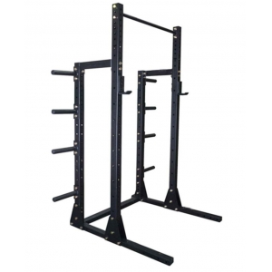 China Squat Half Rack With Plate Storage Wholesale Supplier