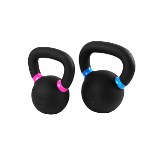 China supplier powder coated kettlebell with color circle factory manufacturer