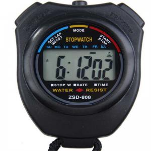 Digital Professional Handheld LCD Sports Timer Speeding Race Competitions Sports Stop Watch Alarm Clock