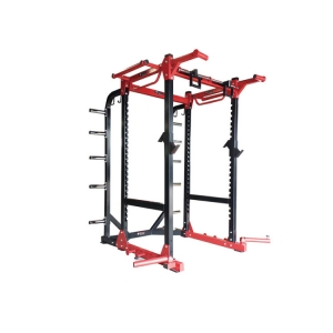 Factory manufacturer fitness gym outside steel rigs power racks squat racks