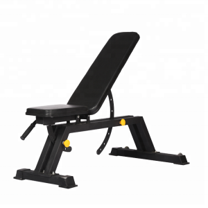 Factory supply gym equipment adjustable bench