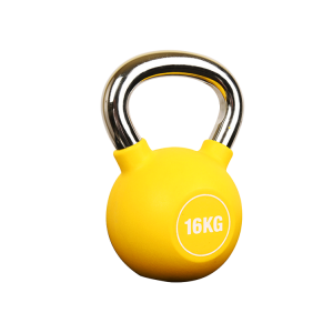Fitness equipment factory from China PU kettlebell on sale