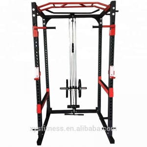 Gym equipment Multi function Power Squat Rack