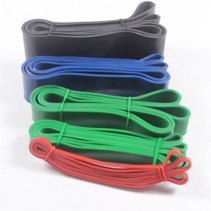 Gym resistance bands set both home use loop bands latex exercise bands Chinese factory