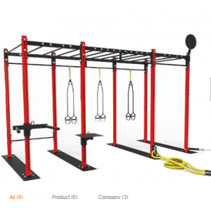 Mulit Function Training Free Standing Cross Fitness Rigs
