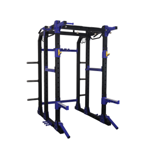 POWER SQUAT RACK CAGE STANDS | CHIN UP & DIPPING STATION
