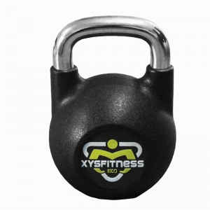 PU competition kettlebell gym equipment kettlebell China manufacturer