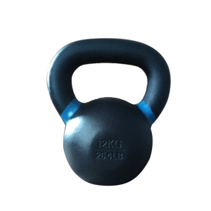 Power Coated Color Cast Iron Kettlebell