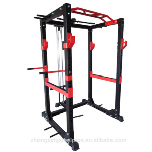 Power Rack with Lat Attachment