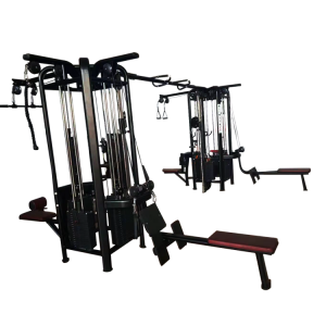 Professional multi Jungle 8 stations gym machine supplier fitness equipment supplier from Chinese manufacturer