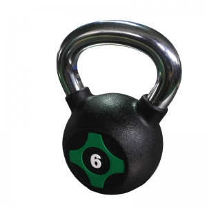 china fitness equipment Manufacturer wholesale pu urethane coated competition kettlebell supplier