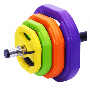 weight lifting barbell plate set