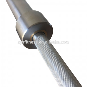 China 1.5m weight lifting barbell bar for fitness factory