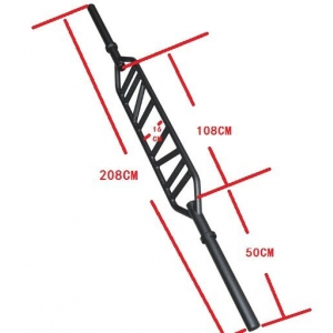 2.08m Multi Grip Tricep Bar Barbell Bar Supplier