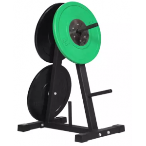 China A frame fitness bumper plate storage rack factory