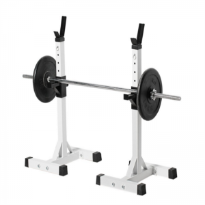 Adjustable Standard Solid Steel Squat Stands Gym Portable Barbell Racks Exercise Rack For Home Gym Exercise Fitness