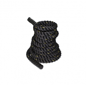 "Black 1.5""/ 2"" Width Poly Dacron 30/40/50ft Length Battle Rope Wholesaler"