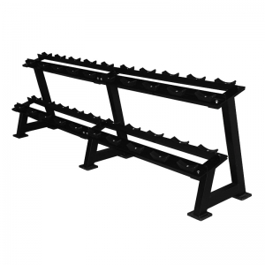 China 2 Tier Dumbbell Rack (10 pairs) Supplier