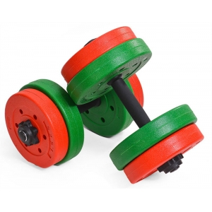 "China 22"" Adjustable Cement Dumbbell Set Wholesale Manufacturer"