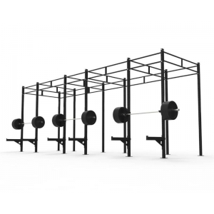 China China Commercial Chin Up Rig And Rack Pull Up Stand With Dual Pull Up Bar Wholesale Supplier factory