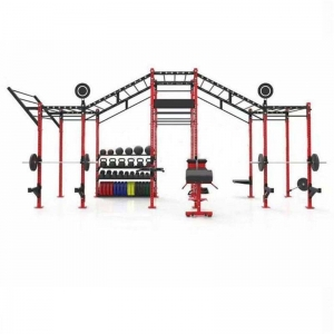 China China Commercial Fitness Training CF Rig Squat Weightlifting Gym Equipment Wholesale Manufacturer factory