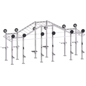 China Fitness CF Rigs With Accessories Supplier