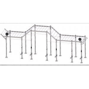 China Fitness Equipment Multifunctional Pull Up Station CF Rig supplier