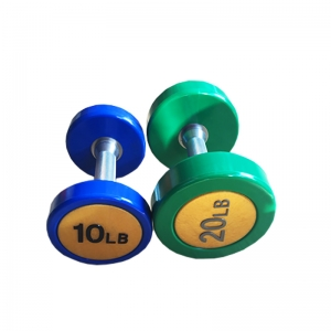 China Fitness PU Dumbbell Set Wholesaler