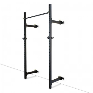 China Wall Mount Foldable Squat Power Rack With Accessories Wholesale Supplier