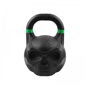 China Wholesale Black Cast Iron CF Skull Kettlebell