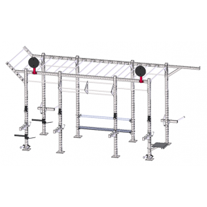 China CF rack with accessories supplier