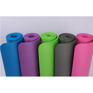 China exercise fitness  High density NBR Yoga mat supplier