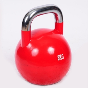 Chiny Fitness equipment steel competition kettlebell workout strength kettlebell with stainless steel handle fabrycznie
