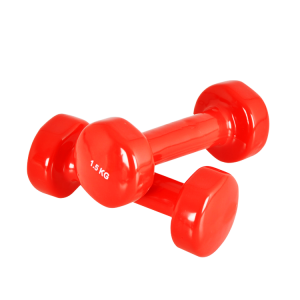 China Supplier Hexagonal Shape Vinyl Neoprene Dumbbells