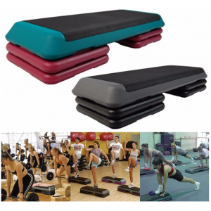 Commercial Gym Training Used Adjustable Aerobic Step Platform Bench