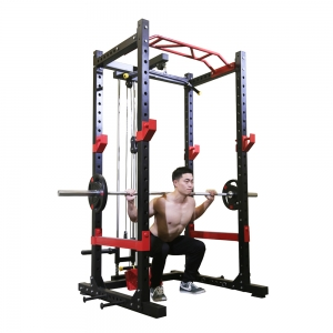 Commercial Multifunctional Gym Weightlifting Equipment Power Rack
