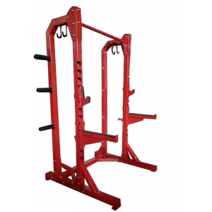 China Commercial gym equipment half rack /Simple deep squat factory