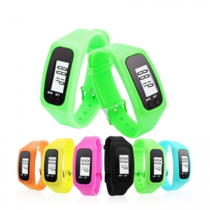 China Digital Pedometer Best Pedometer for Walking Accurately Track Steps and Miles Multi-function Portable Sport Pedometer factory
