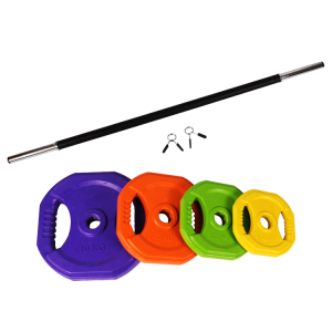 China Factory body pump set weight lifting barbell set factory