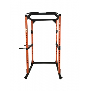 Fitness Power Rack With Dip Handles