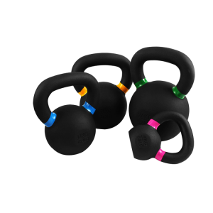 Gravity Black Cast Iron Powder Coated Kettlebell China Factory Manufacturer