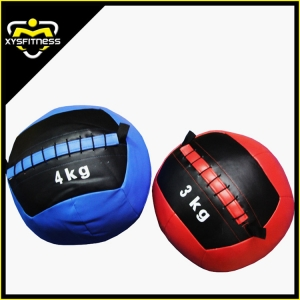 Gym fitness soft weighted wall ball